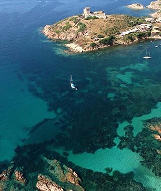 Village de Girolata - Promenades en mer Corse Adrénaline