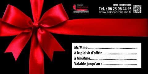Bon cadeau - Corse Adrénaline