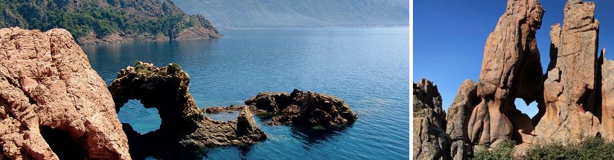 Promenade en mer Corse Adrénaline - CALANQUES DE PIANA
