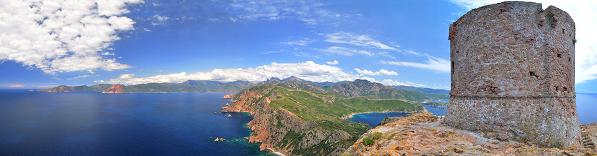 Promenade en mer Corse CAPO ROSSO - Corse Adrénaline