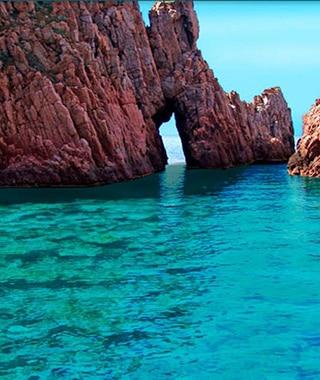 Capo Rosso - Promenades en mer Corse Adrénaline