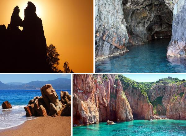 Promenades en mer calanques de piana (1H30) : Calanque de Piana – Grottes du Capo Rosso