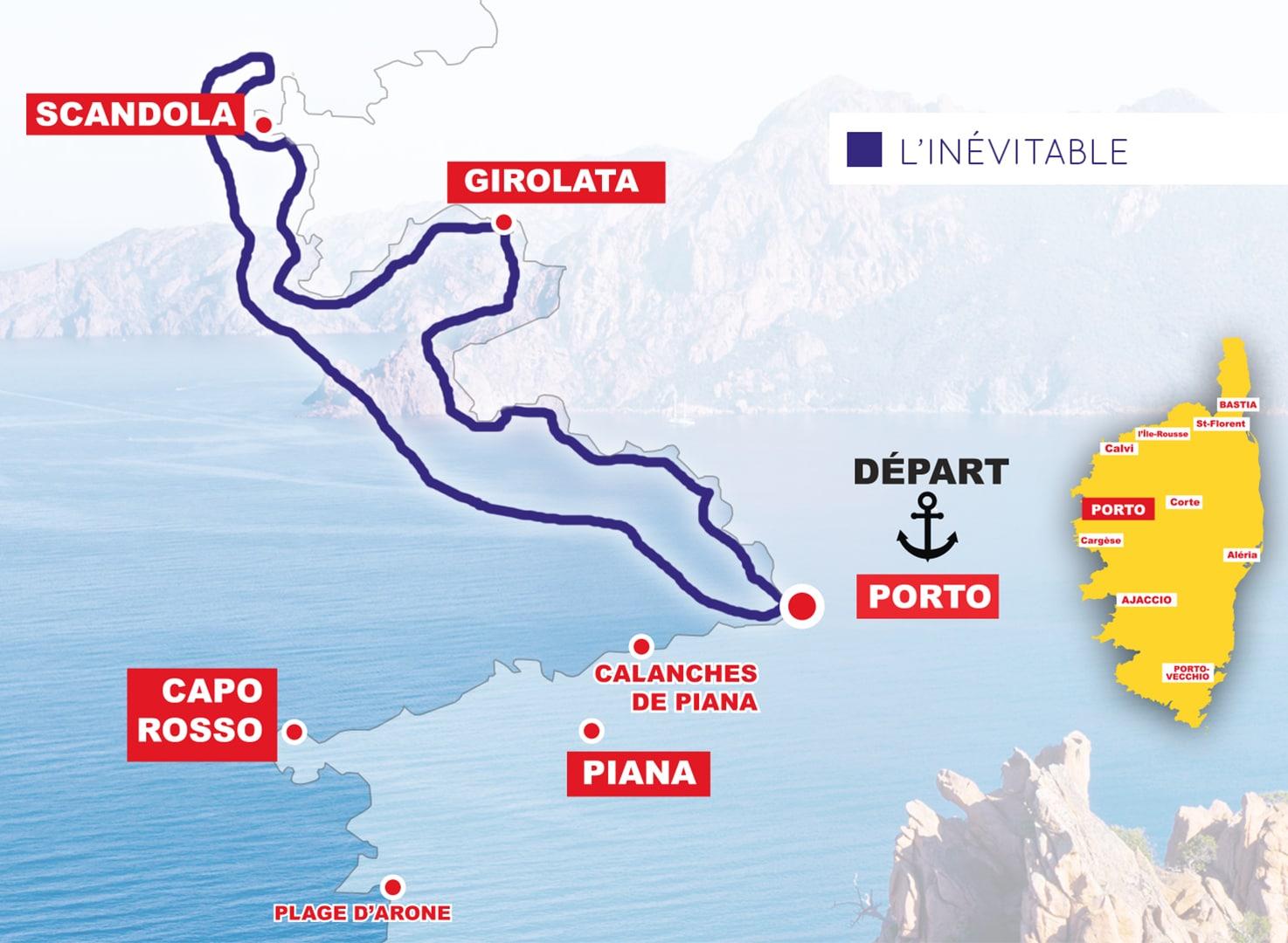 L'inévitable Corse Adrenaline (2H30) : Scandola – Girolata