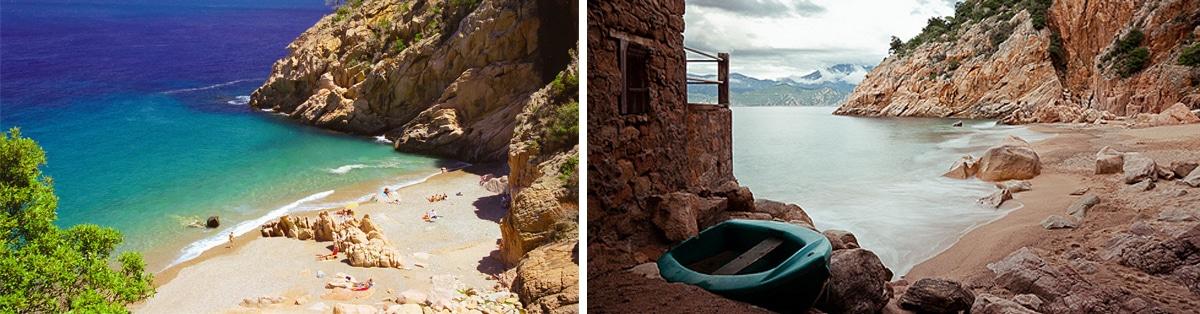 Promenade en mer Corse Adrénaline - Plage de FICAJOLA