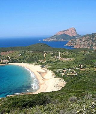 Plage d'Arone - Promenades en mer Corse Adrénaline