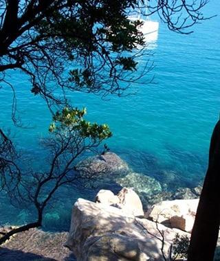 Plage de Ficajola - Promenades en mer Corse Adrénaline