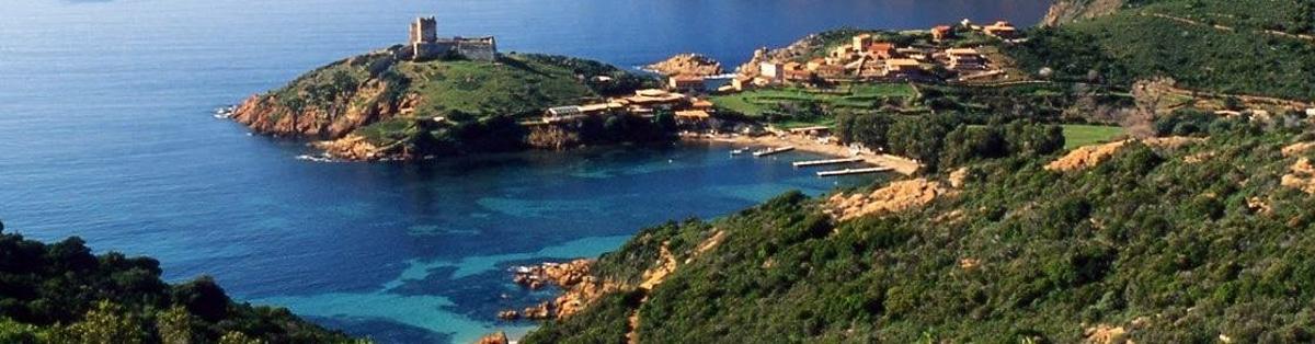 Promenade en mer Corse village de GIROLATA - Corse Adrénaline