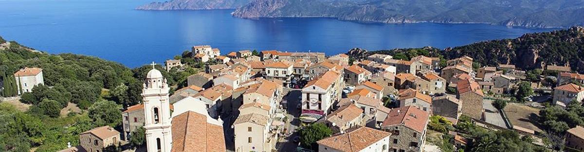 Promenade en mer Corse Adrénaline - Village de Piana