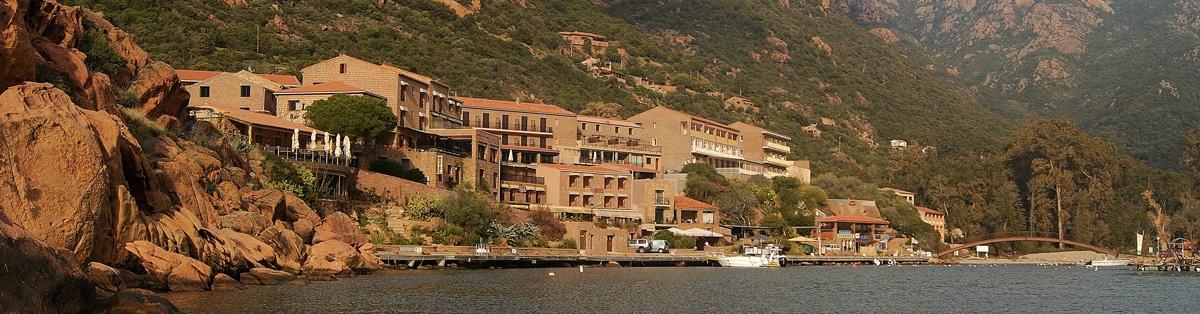 Promenade en mer Corse village de PORTO - Corse Adrénaline