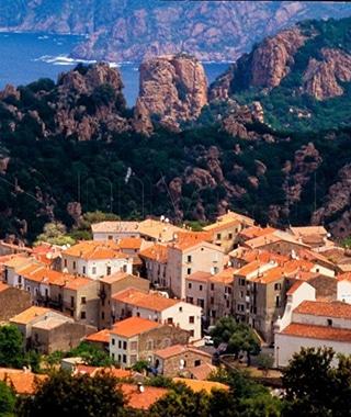 Village de Piana - Promenades en mer Corse Adrénaline