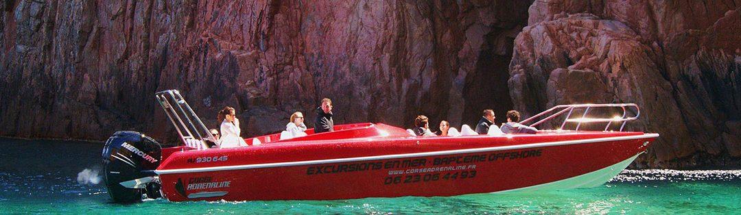 Le bateau de Corse Adrénaline est reparti en mer