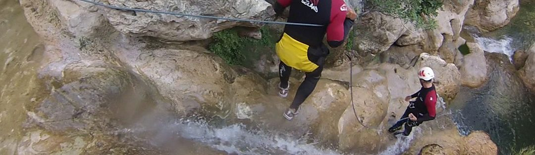 Et si on faisait du canyoning en Corse ?