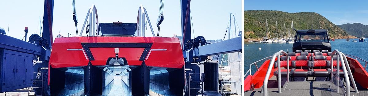 Promenade en bateau Porto, Scandola, Calanques de piana